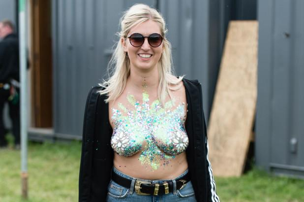 The Glitter Boobs Festival Trend 2018
