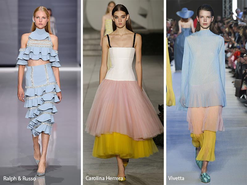Spring/Summer 2018 Fashion Trends From The Runways