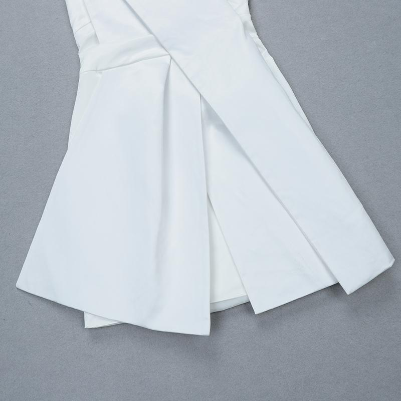 White Amelia Strapless Dress - DIOR BELLA