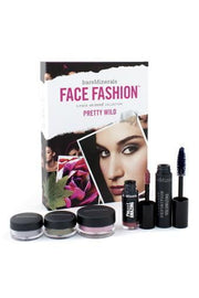 BareMinerals Face Fashion Collection (Blush + 2x Eye Color + Mascara + Lipcolor) - The Look Of Now Pretty Wild5pcs