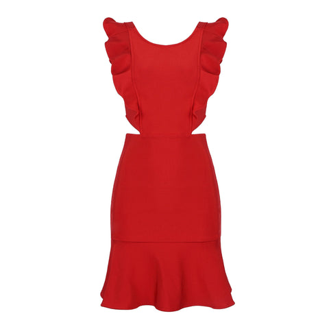 Mary Jane Cutout Side Mini Dress - DIOR BELLA