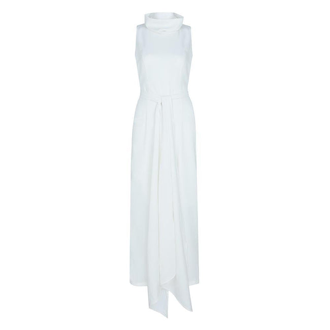 Jasmine Open Back Wide Leg Jumpsuit - DIOR BELLA