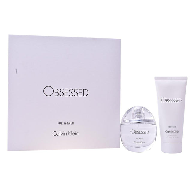 Women's Perfume Set Obsessed Calvin Klein (2 pcs) - DIOR BELLA