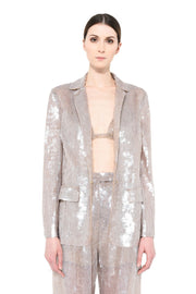 Single Brested Sequins Jacket And Pant Suit - DIOR BELLA