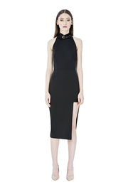 Anita Asymmetrical Bandage Dress - DIOR BELLA