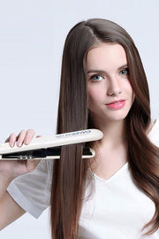 Envee Silk Edge Steam Hair Straightener - DIOR BELLA