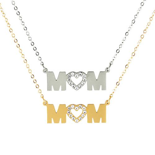 Heart Shaped Mom Necklace - DIOR BELLA