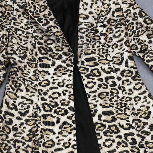 Leopard Print Jacket and Skirt Suit - DIOR BELLA