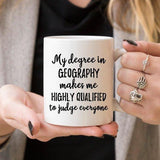 Geography Gift, Geographer Mug, Geographer Gift, - DIOR BELLA