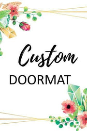 Door mat Doormat Welcome Mat Housewarming Gift - DIOR BELLA
