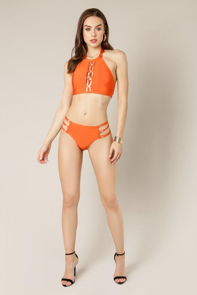 Shane Bandage Two Piece Swimsuit - DIOR BELLA