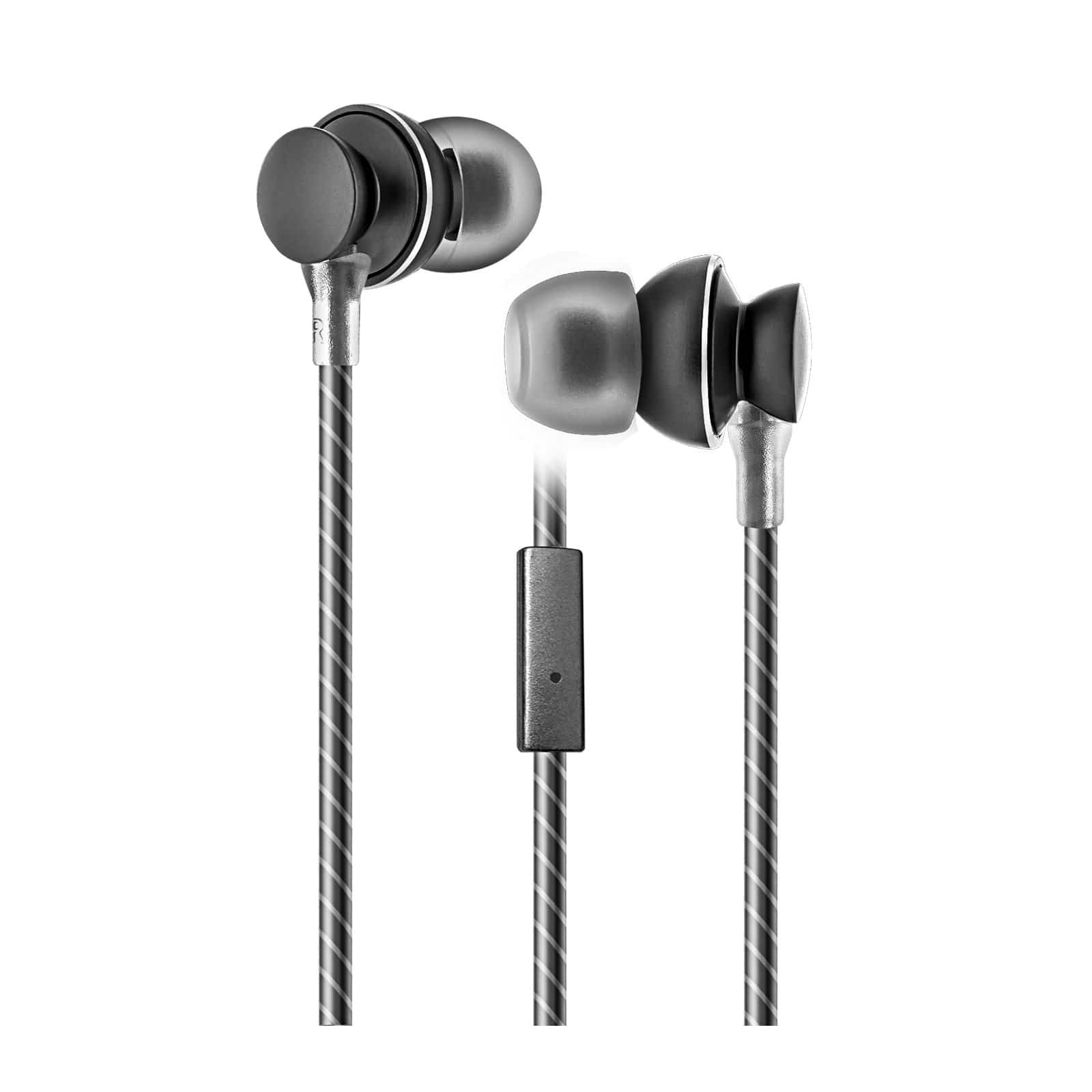 Metal Earbuds with mic - HeadArt