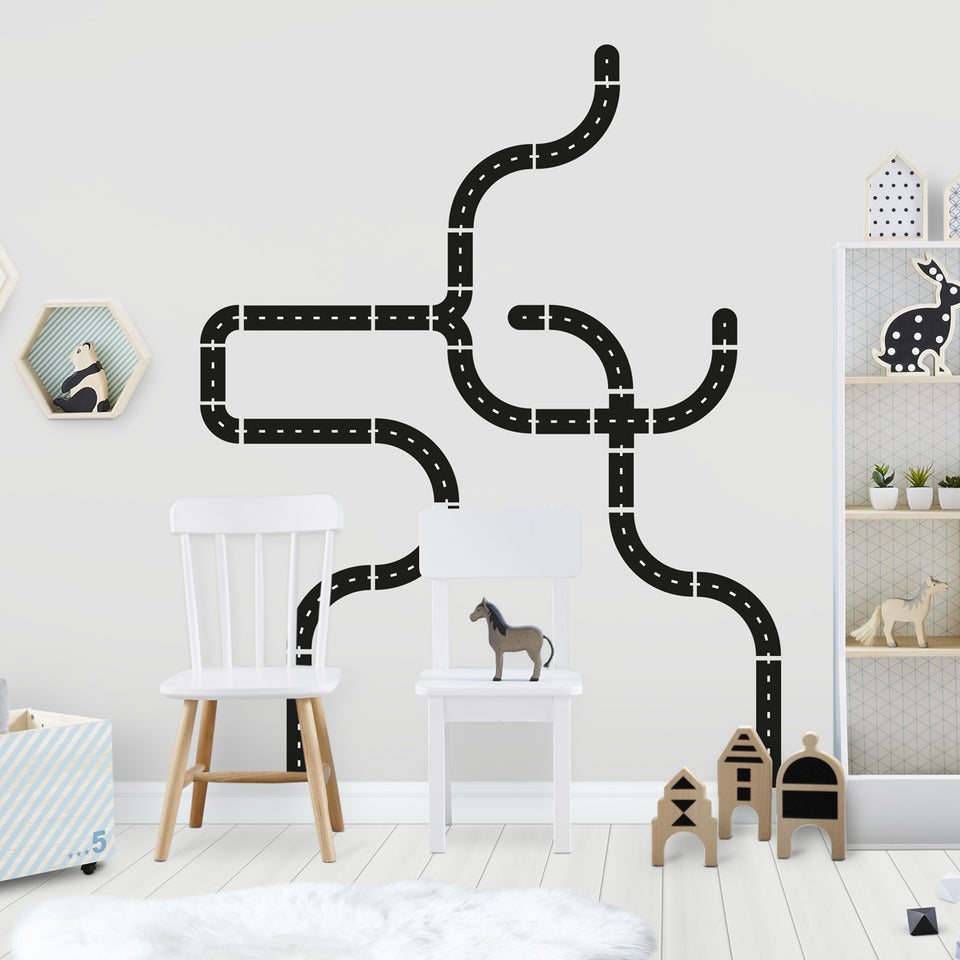 Roads Wall Stickers