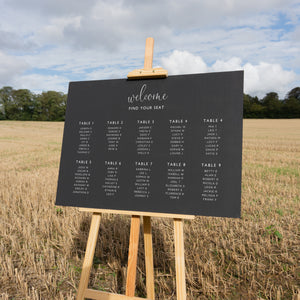 Wedding Table Plan Sticker