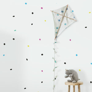 Multicoloured Dots Wall Stickers