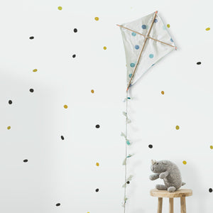 Close Up Organic/Natural Dots Wall Stickers