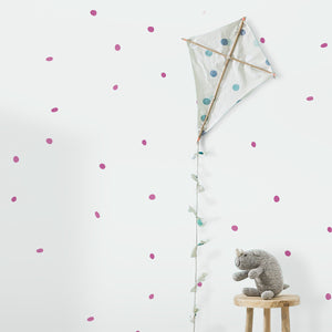 Organic/Natural Dots Wall Stickers