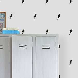 Close Up Lightning Bolt Wall Stickers
