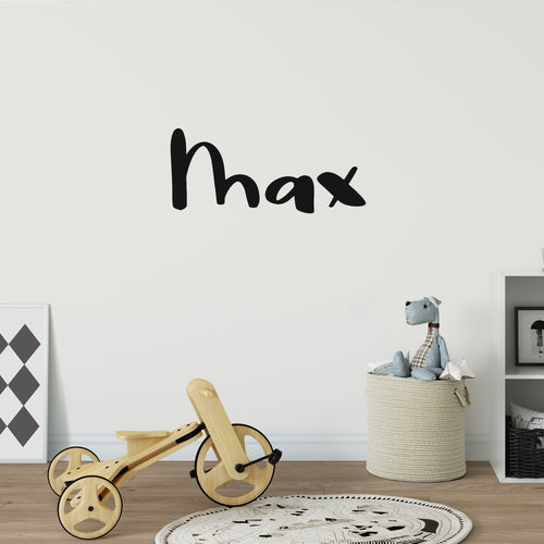 Fun Personalised Decal In Nursery