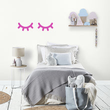 Magenta Eyes Wall Sticker