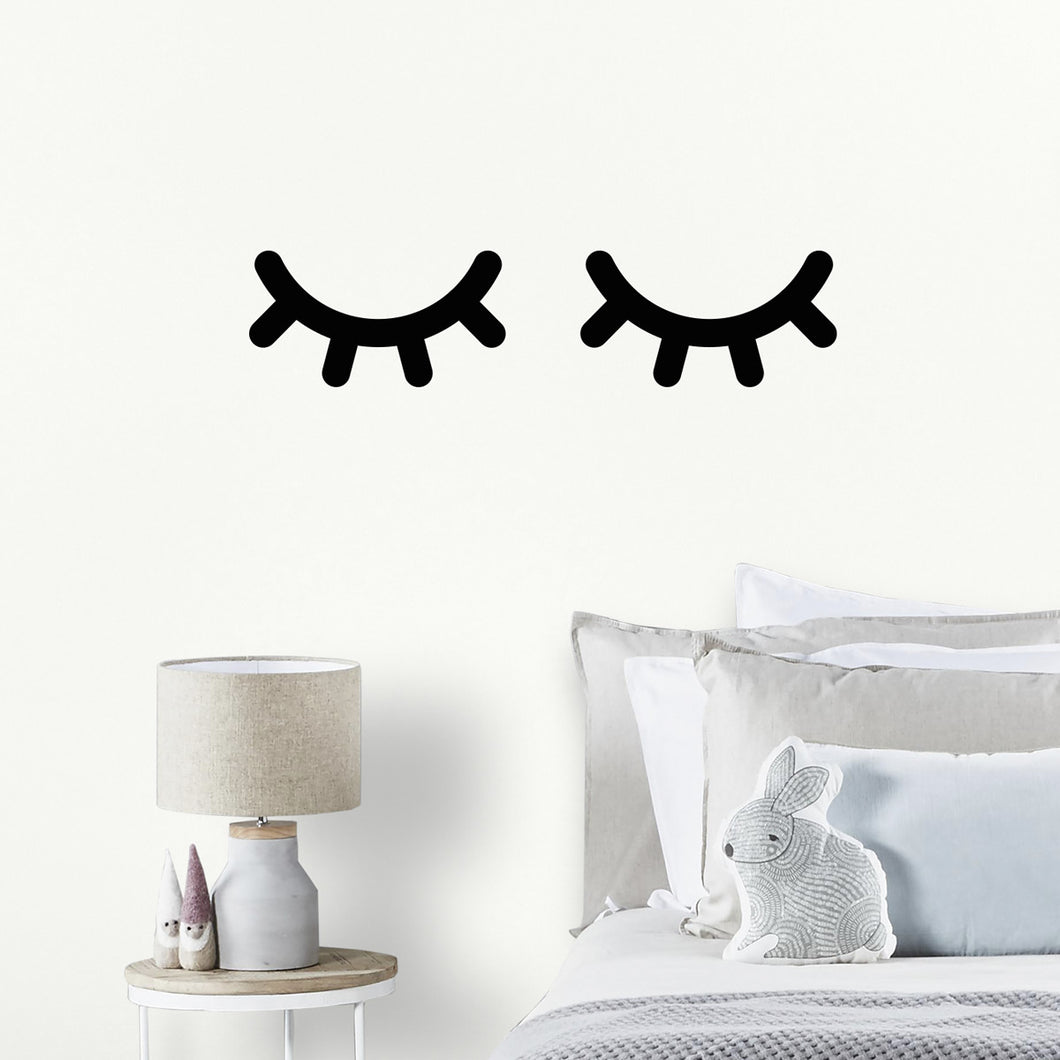 Eyelash Wall Sticker