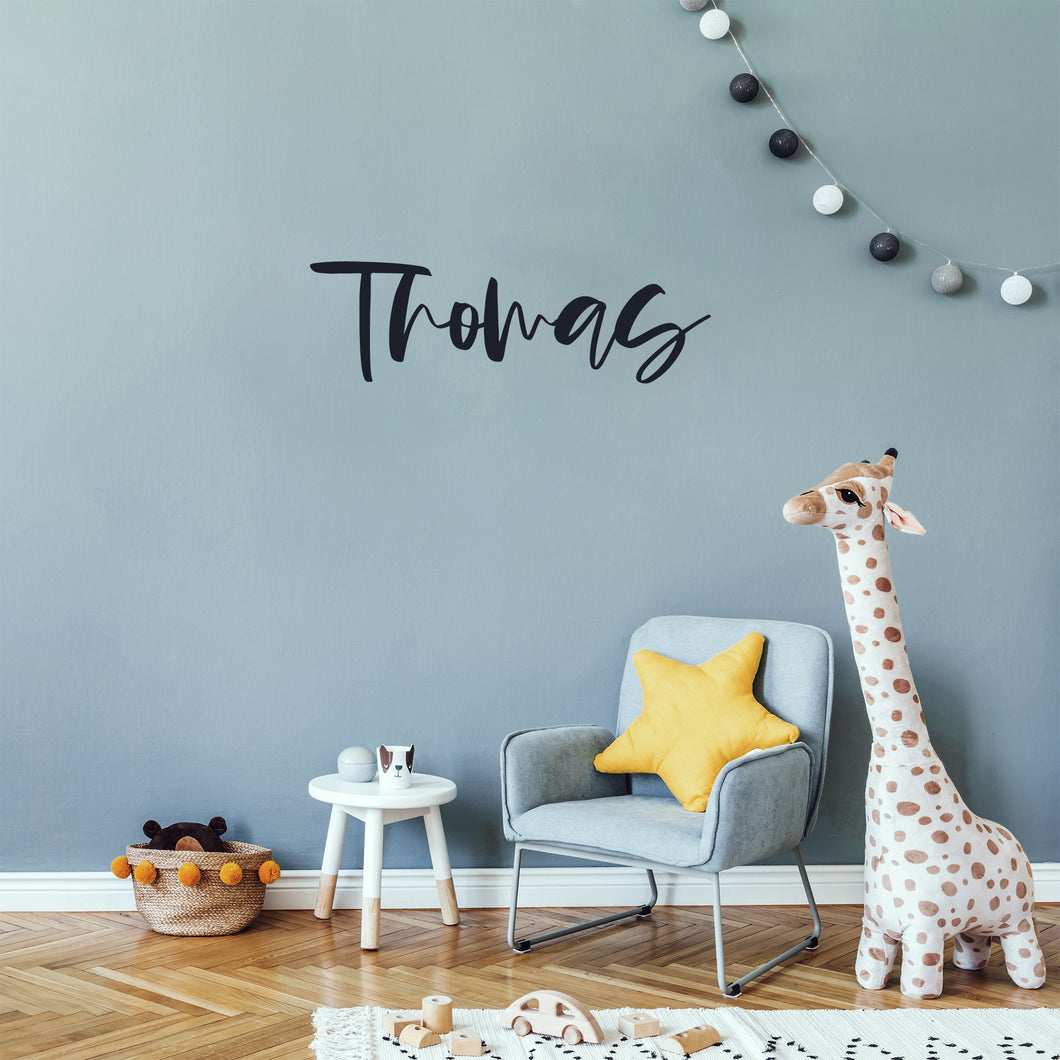 Modern Personalised Decal for Kids Bedrooms