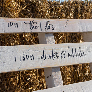 Wedding Pallet Hire