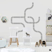 Grey Road Wall Sticker/Decal