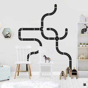 Road Wall Sticker