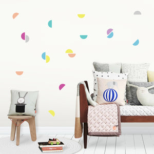 Semicircle Kids Bedroom Wall Stickers
