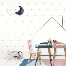 Peach/Pink Stars Wall Stickers/Decals