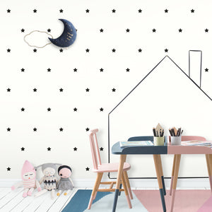 Black Stars Wall Stickers/Decals