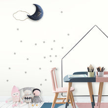 Grey Stars Wall Stickers/Decals