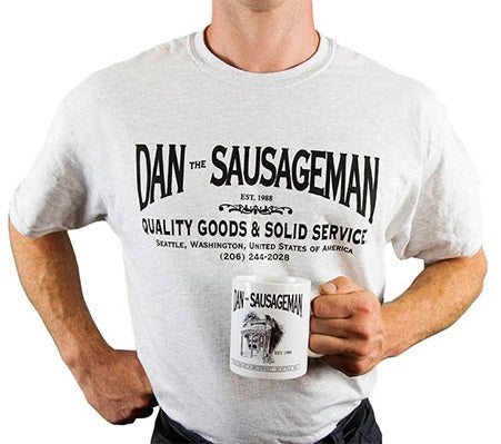 Dan The Sausage Man Swag
