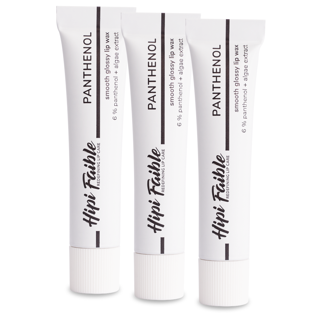 LIP BALM | PANTHENOL | 3er Set