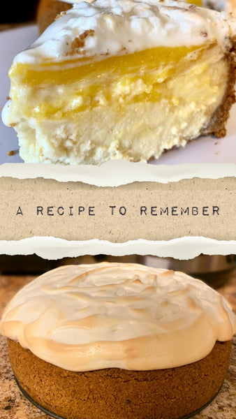 Instant Pot Lemon Meringue Cheesecake