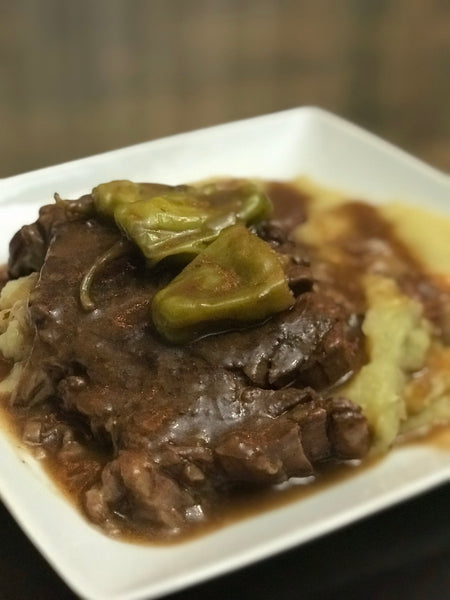Instant Pot Mississippi Style Pot Roast
