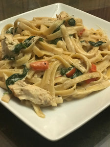 Instant Pot Tuscan Garlic Chicken Pasta