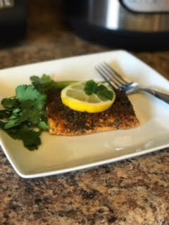 Instant Pot Blackened Salmon