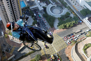 He Climbed 800 Feet Up a Skyscraper in a Wheelchair