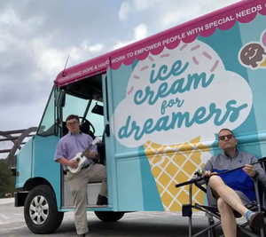 Ice-cream store with special-needs employees overcomes pandemic