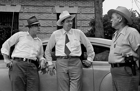 Sheriff Willis McCall, flanked by two deputies.CreditWallace Kirkland/The LIFE Picture Collection, via Getty Images