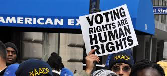 Voting rights are human rights