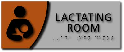 BWL-1039 Horizontal Layout Lactation Room Sign
