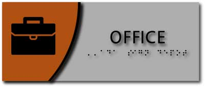 BWL-1059 Horizontal Layout Office Room Sign
