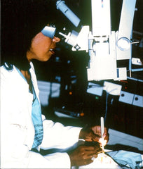 Dr. Patricia Bath in surgery