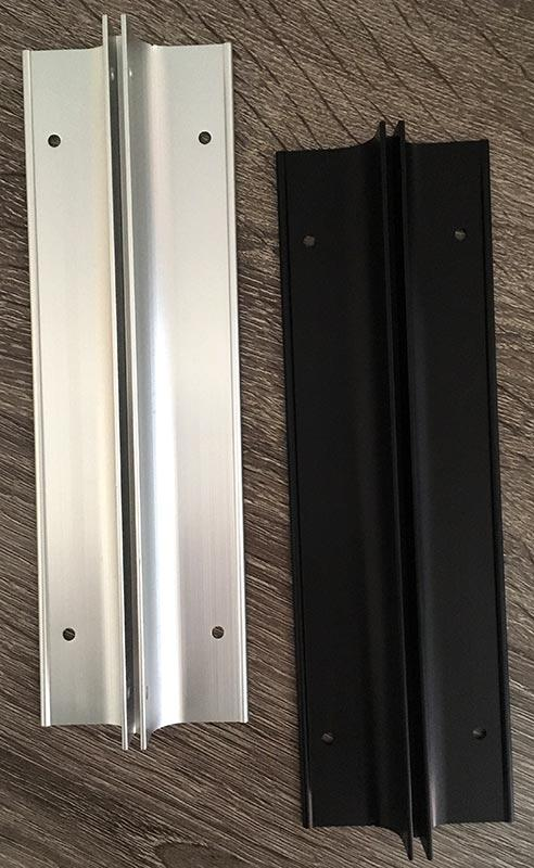 Right Angle Sign Mounting Bracket For Two Sided Hallway