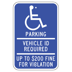 PAR-1037 Official Minnesota State Handicapped Parking Signs