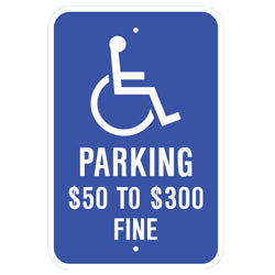 PAR-1038 Official Missouri State Handicapped Parking Sign
