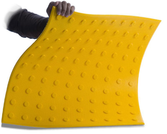 Flexible Urethane ADA Pads - 2' x 2' - Install on Concrete Surfaces